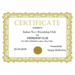 Indian no.1 friendship club